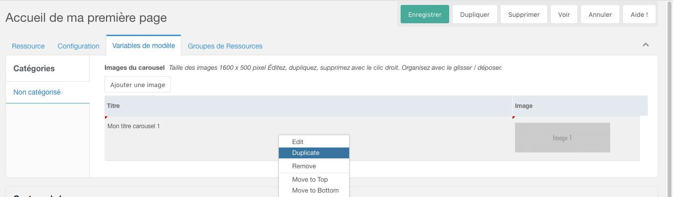 Cr er un carrousel dynamique avec bootstrap et migx for Ouvrir fenetre javascript